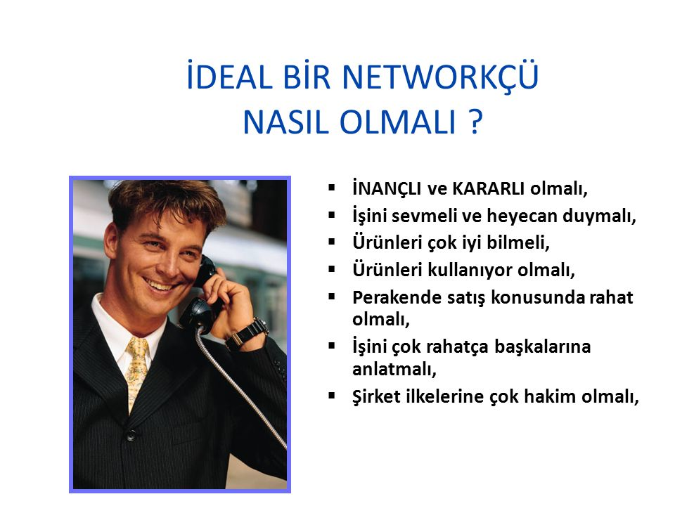 İDEAL BİR NETWORKÇÜ NASIL OLMALI