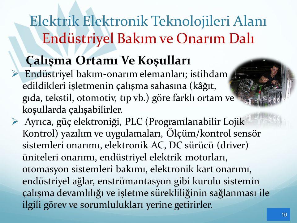 Elektrik Elektronik Teknolojileri Alanı