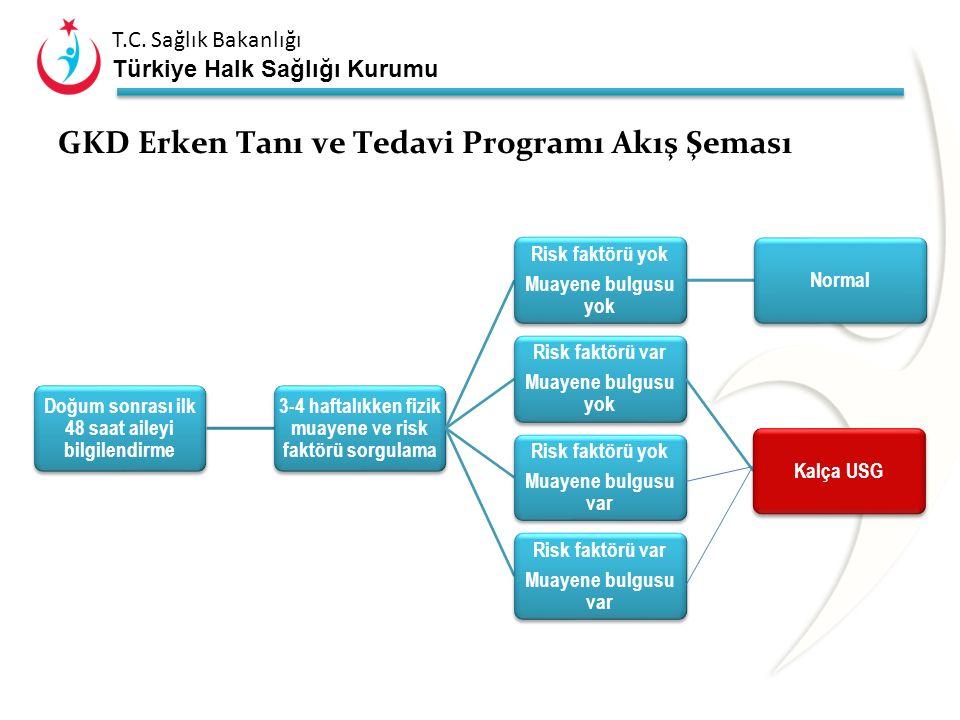 GKD Erken Tanı ve Tedavi Programı Akış Şeması