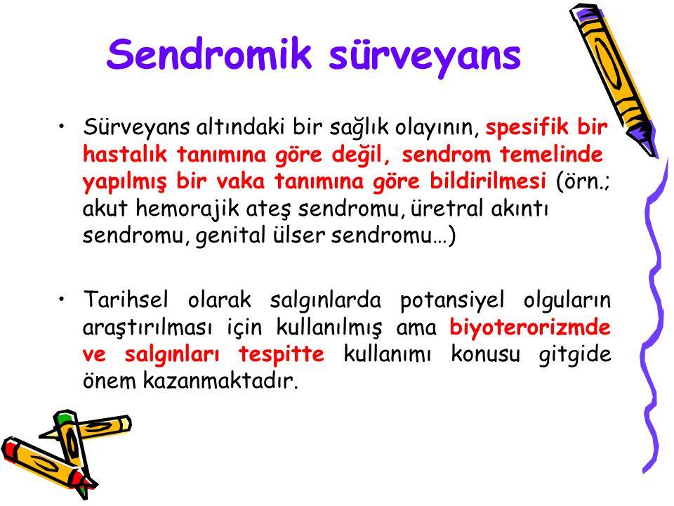 Sendromik sürveyans