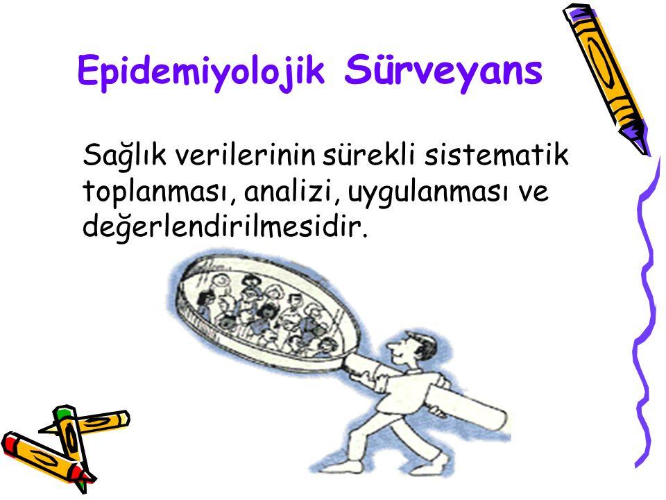 Epidemiyolojik Sürveyans