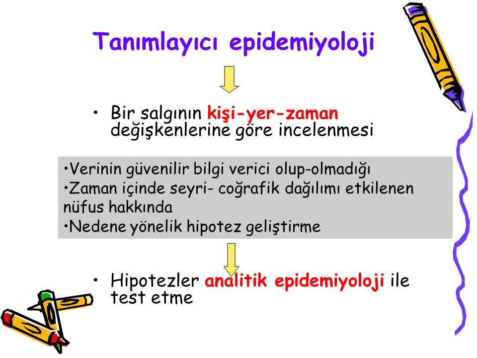 Tanımlayıcı epidemiyoloji