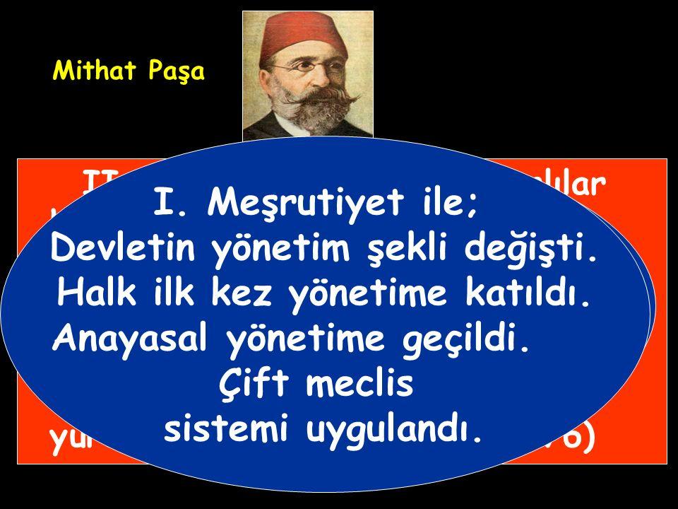 Kanunuesasi Osmanlı'nın ilk yazılı anayasasıdır.