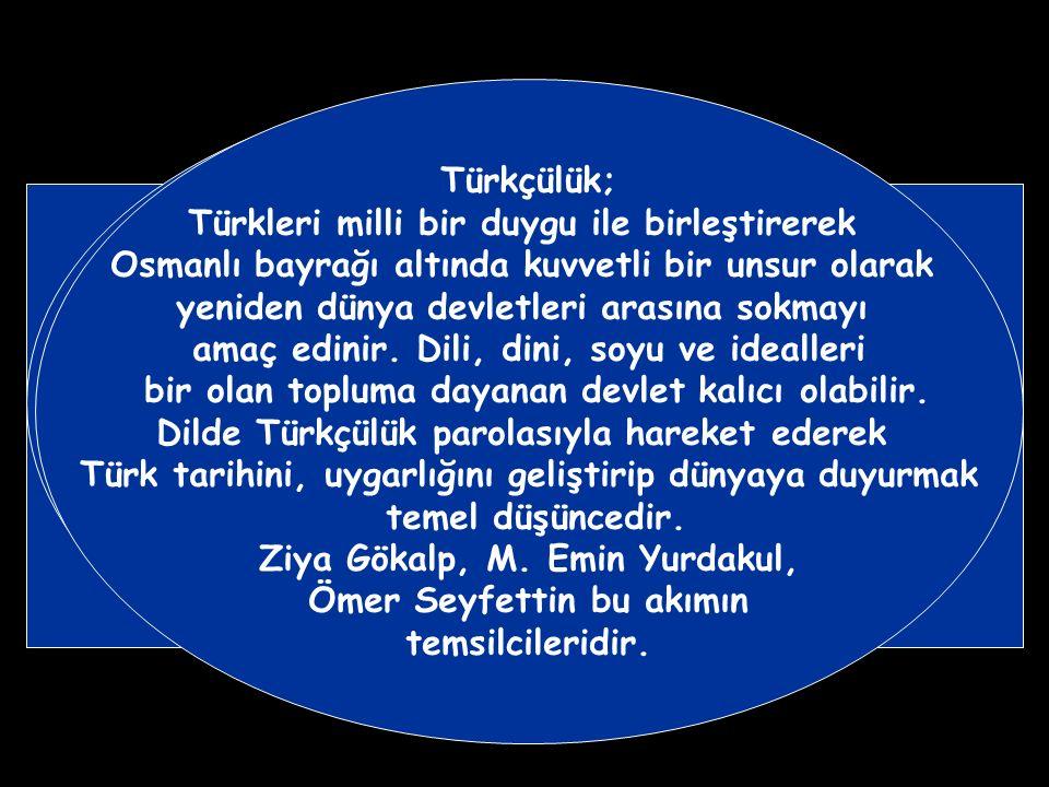 İttihat ve Terakki Partisi Osmanlıcılık düşüncesini terk ederek