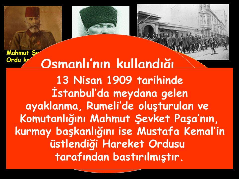 Osmanlı'nın kullandığı Rûmi takvime göre 31 Mart tarihi,