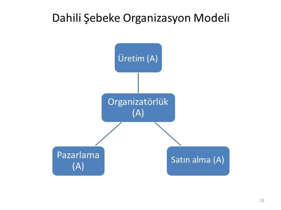 Dahili Şebeke Organizasyon Modeli