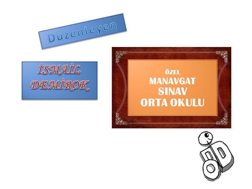 ÖZEL MANAVGAT SINAV ORTA OKULU