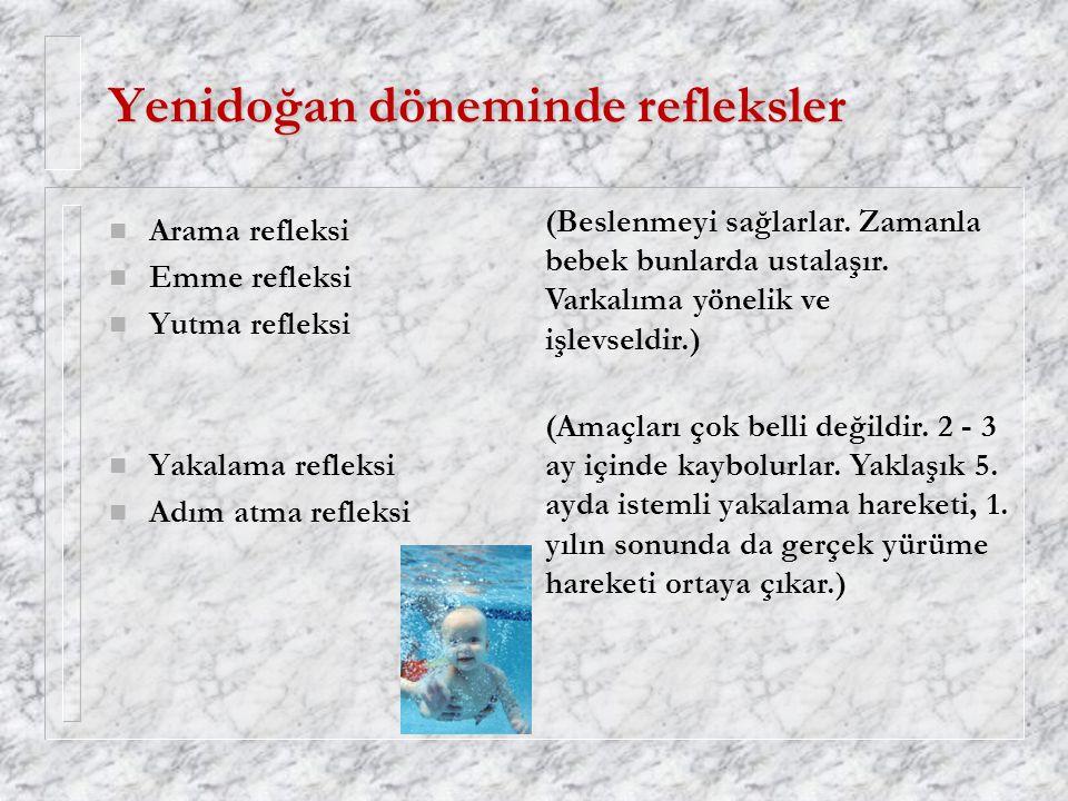 Yenidoğan döneminde refleksler