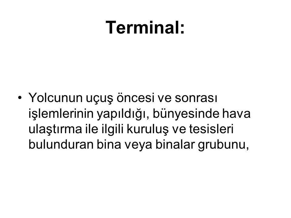 Terminal: