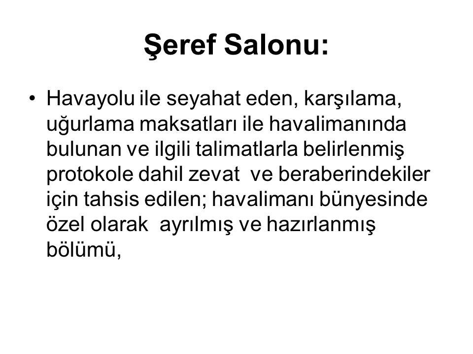 Şeref Salonu: