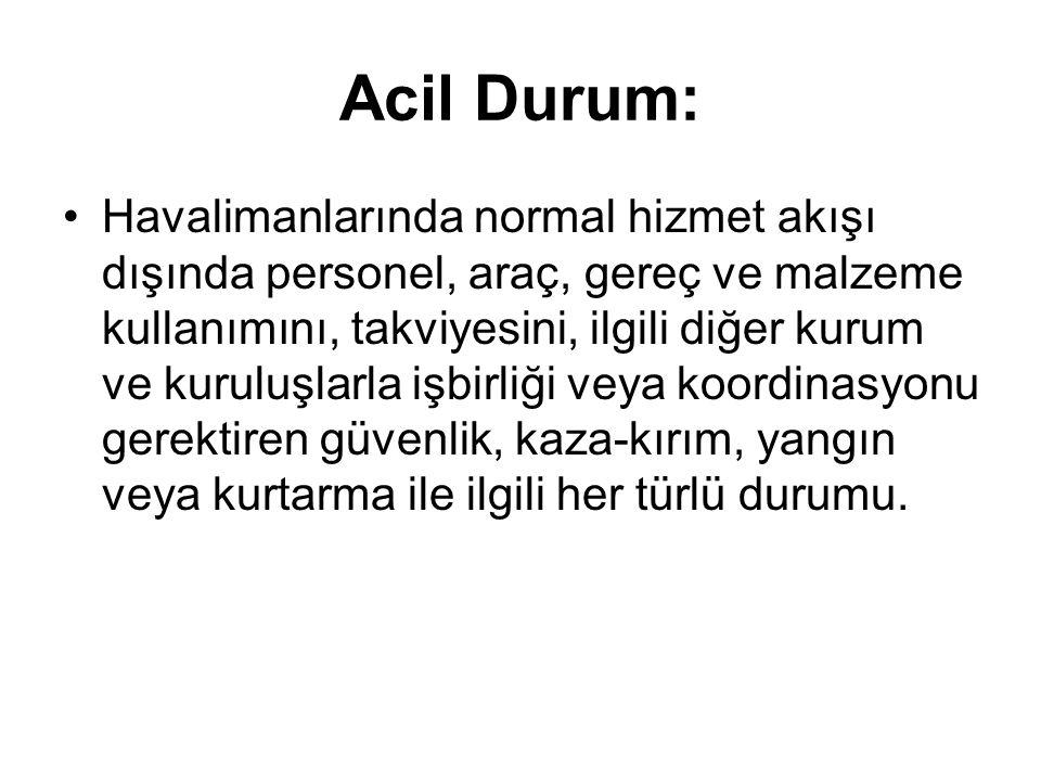 Acil Durum: