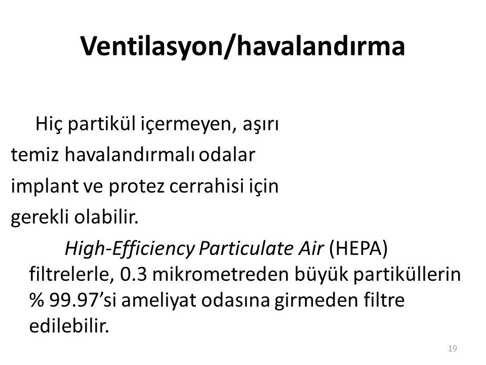 Ventilasyon/havalandırma