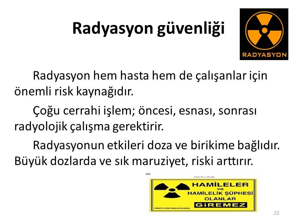 Radyasyon güvenliği