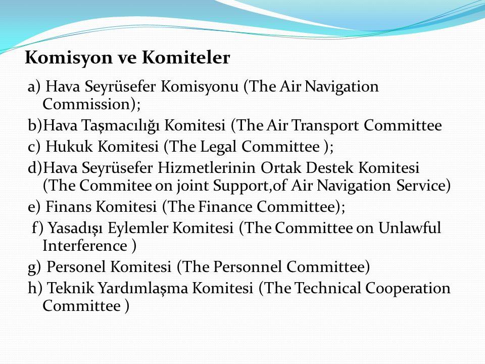 Komisyon ve Komiteler