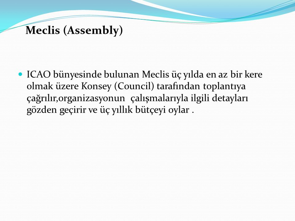 Meclis (Assembly)