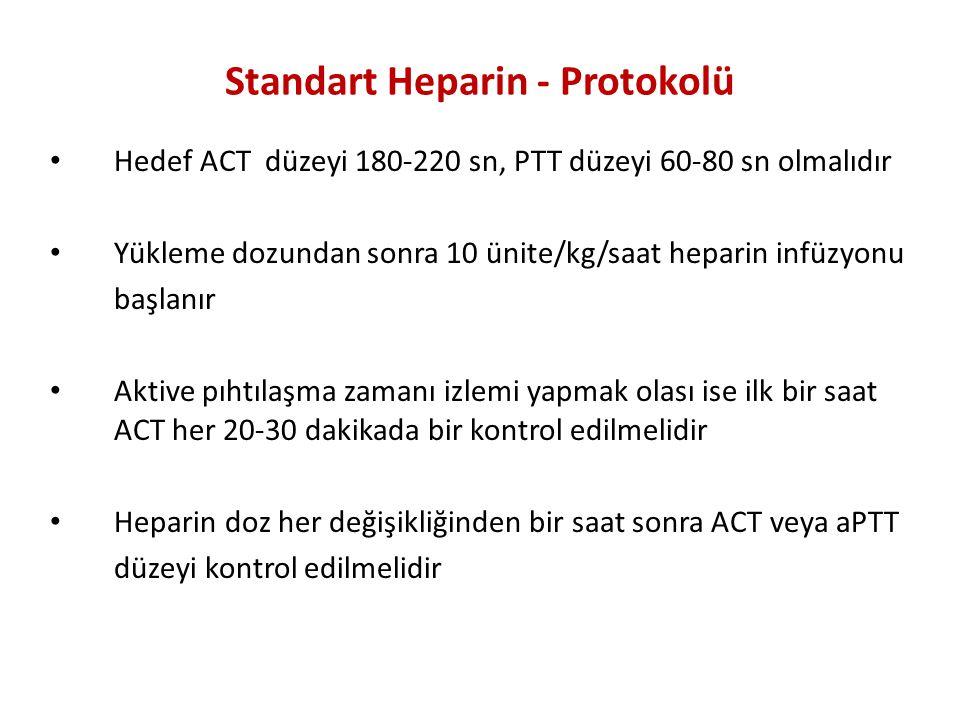 Standart Heparin - Protokolü