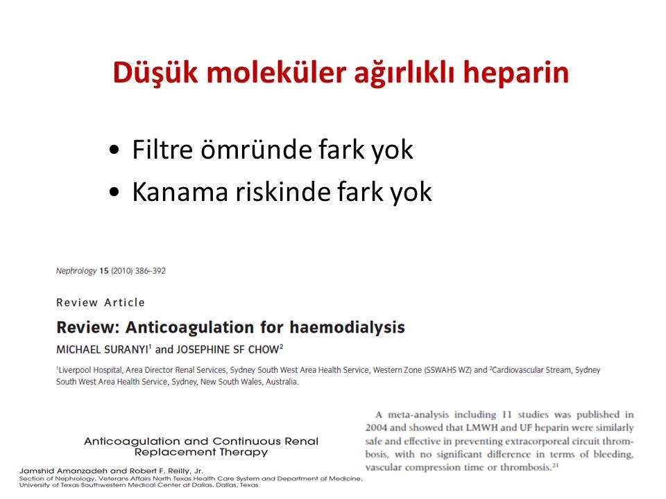Düşük moleküler ağırlıklı heparin