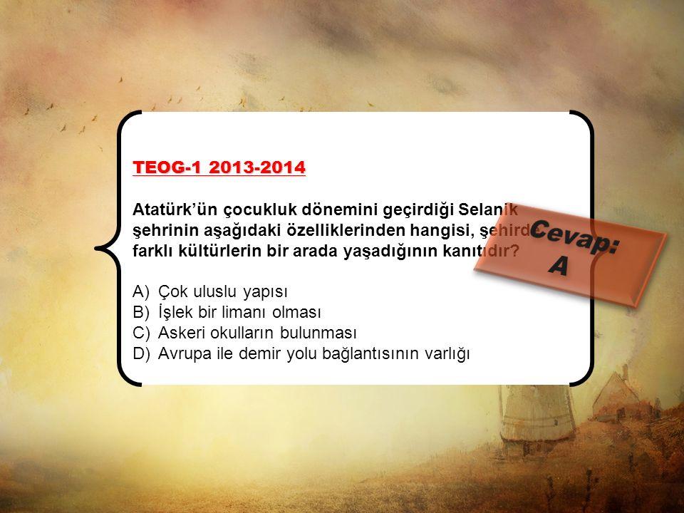 TEOG-1 2013-2014