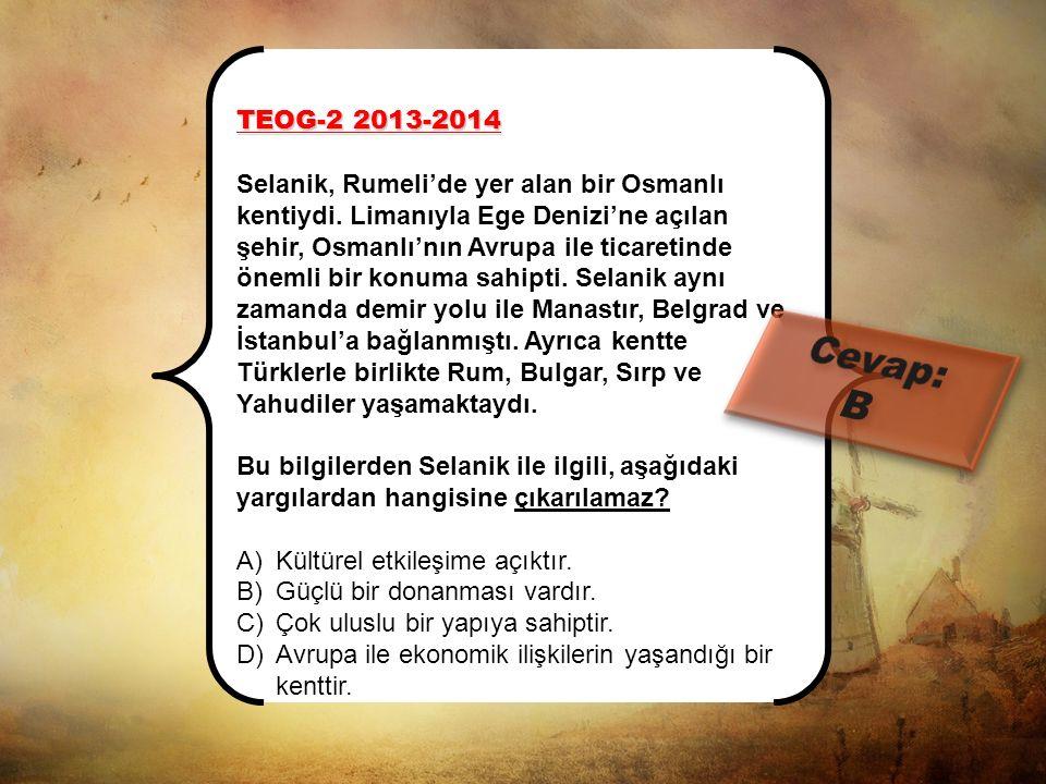 TEOG-2 2013-2014