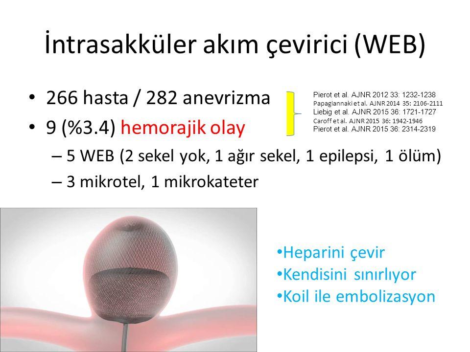 İntrasakküler akım çevirici (WEB)