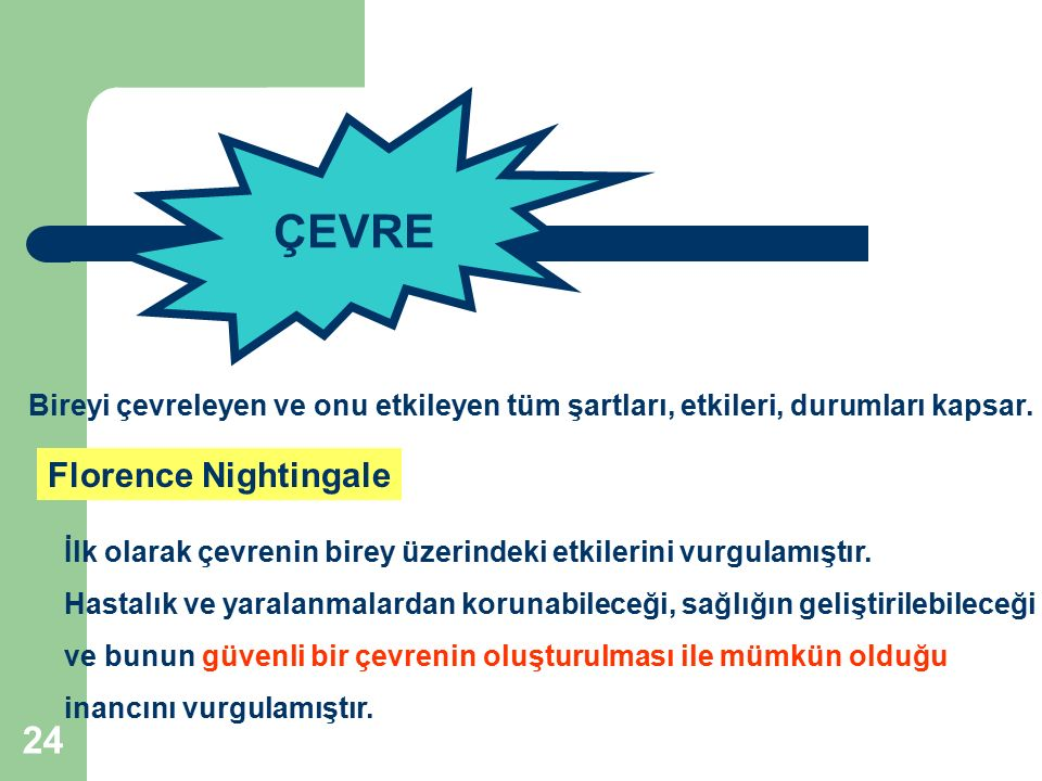ÇEVRE Florence Nightingale