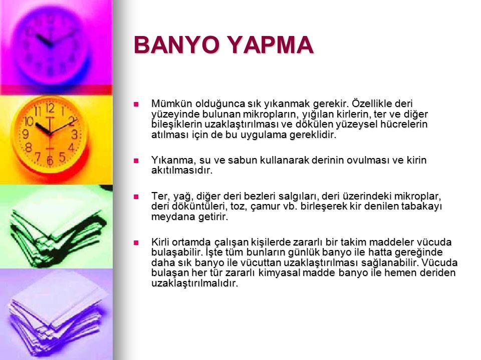 BANYO YAPMA