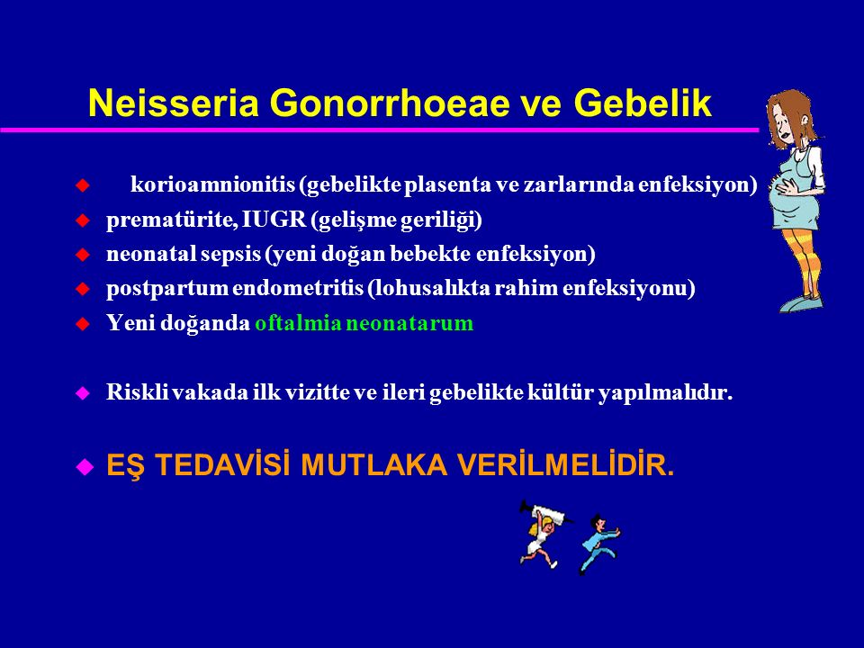 Neisseria Gonorrhoeae ve Gebelik