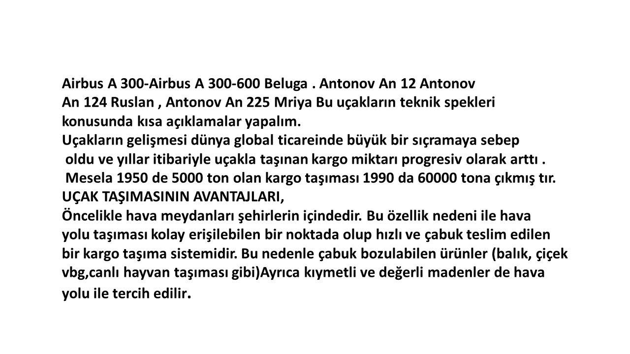 Airbus A 300-Airbus A 300-600 Beluga . Antonov An 12 Antonov