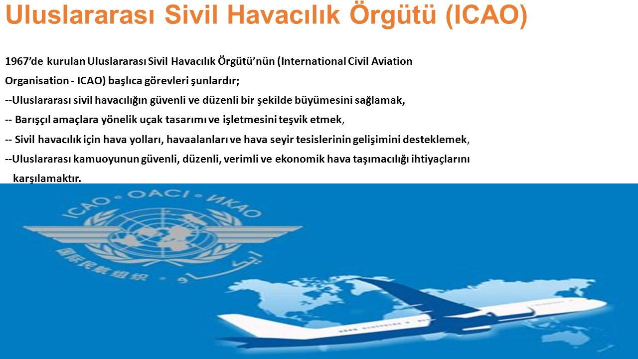Uluslararası Sivil Havacılık Örgütü (ICAO)
