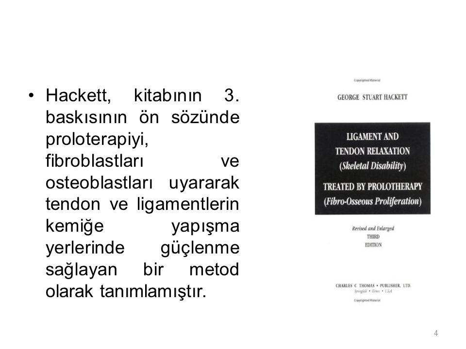 Hackett, kitabının 3.