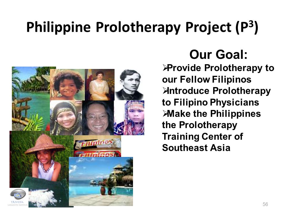 Philippine Prolotherapy Project (P3)