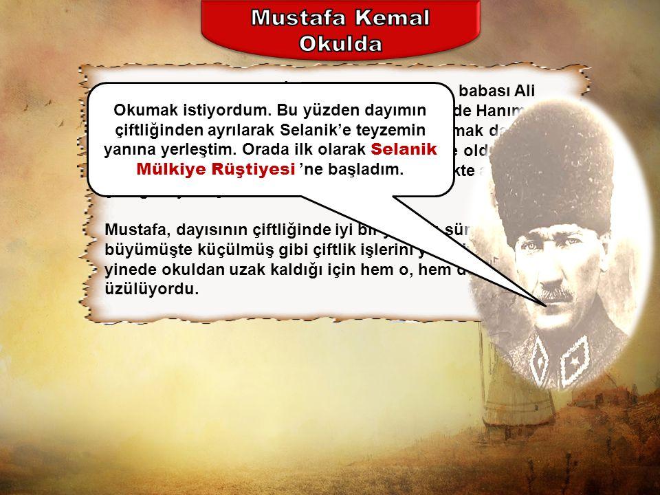 Mustafa Kemal Okulda.