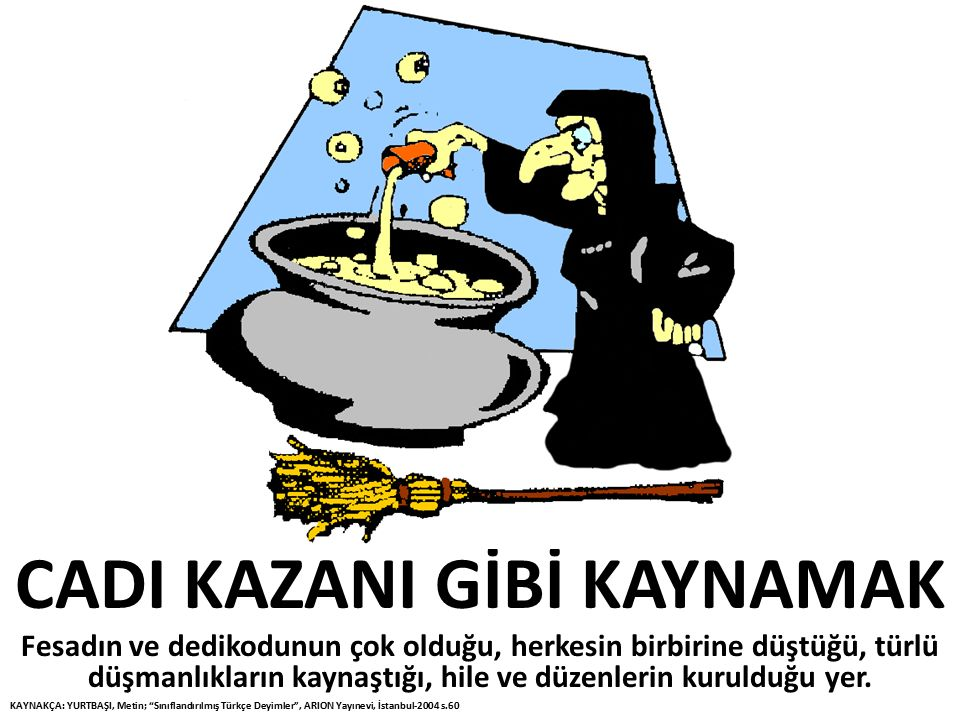 CADI KAZANI GİBİ KAYNAMAK