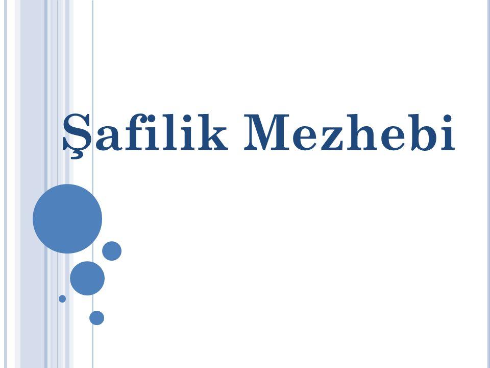 Şafilik Mezhebi