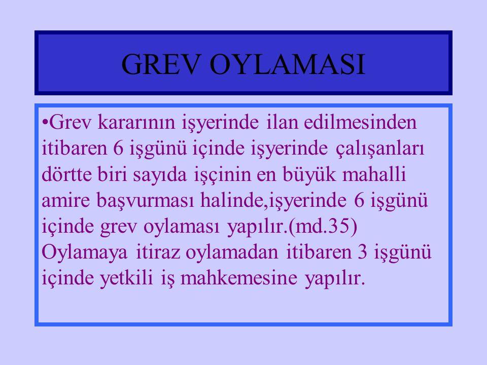 GREV OYLAMASI