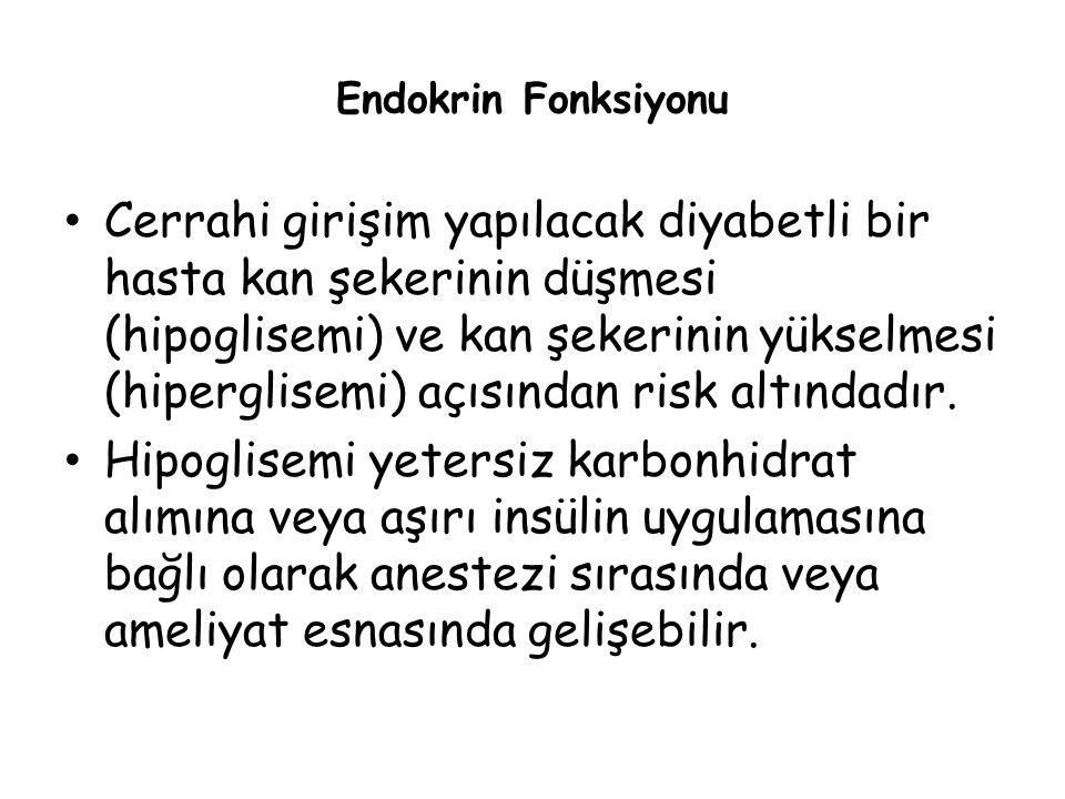 Endokrin Fonksiyonu