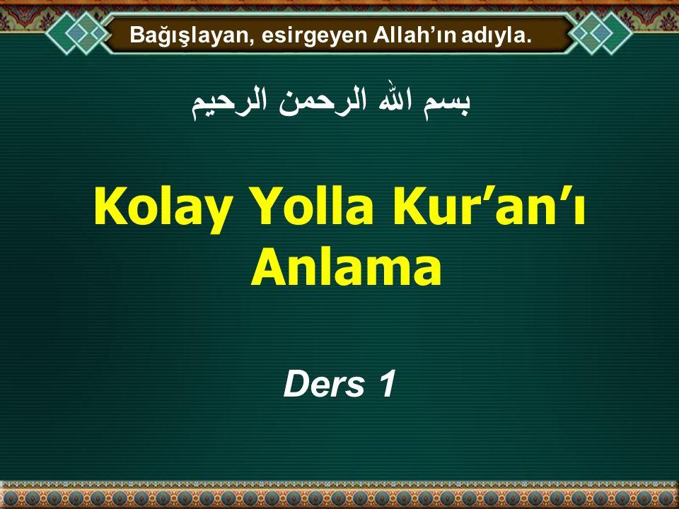 Kolay Yolla Kur'an'ı Anlama
