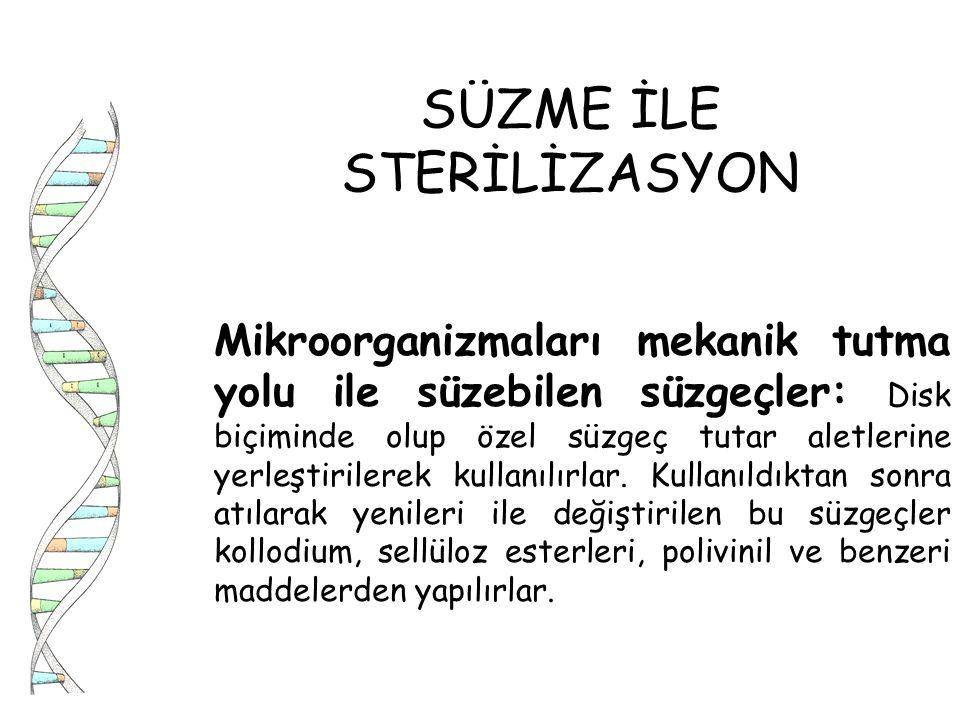 SÜZME İLE STERİLİZASYON
