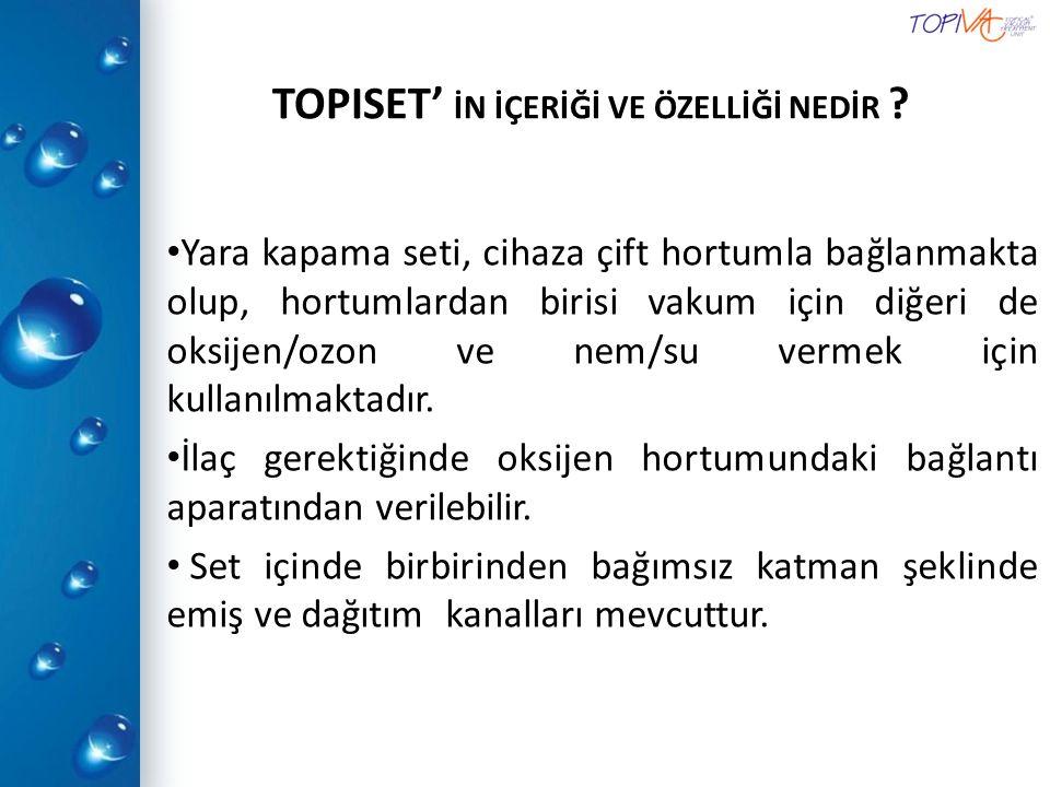 TOPISET' İN İÇERİĞİ VE ÖZELLİĞİ NEDİR