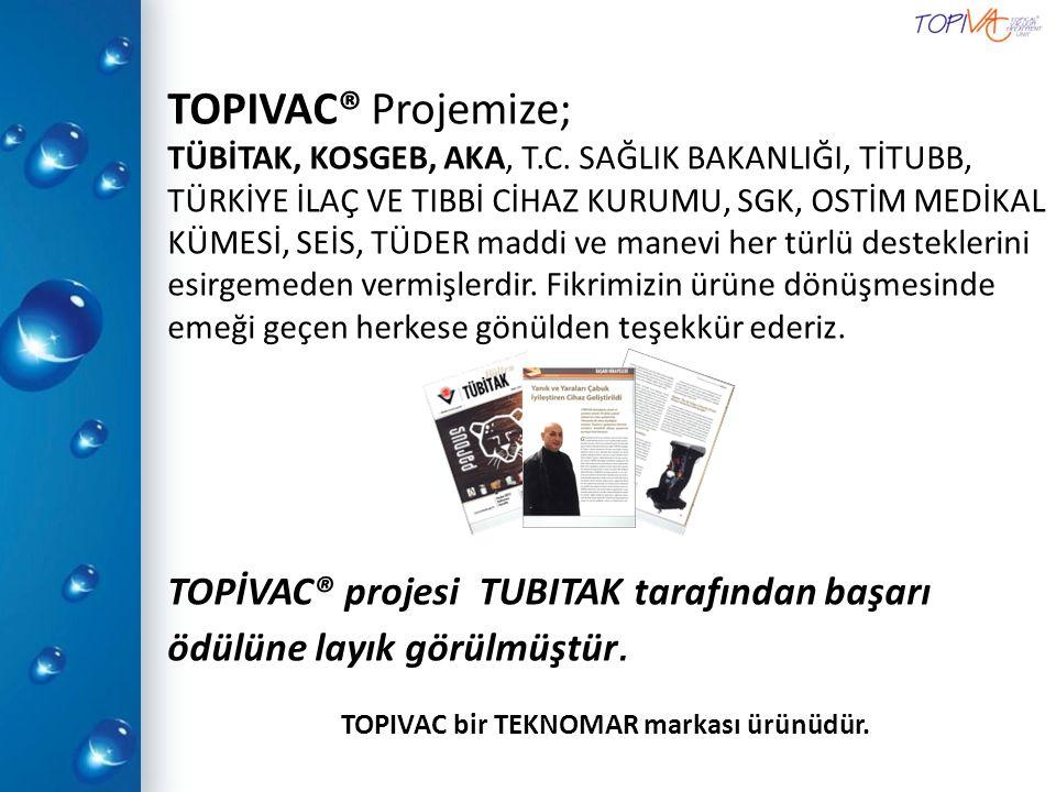 TOPIVAC bir TEKNOMAR markası ürünüdür.