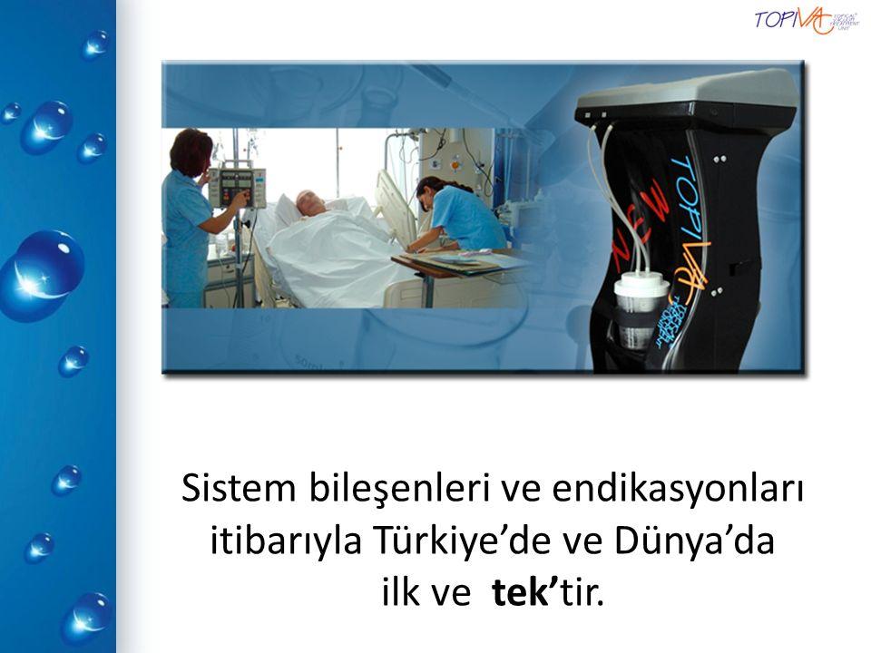 Sistem bileşenleri ve endikasyonları itibarıyla Türkiye'de ve Dünya'da