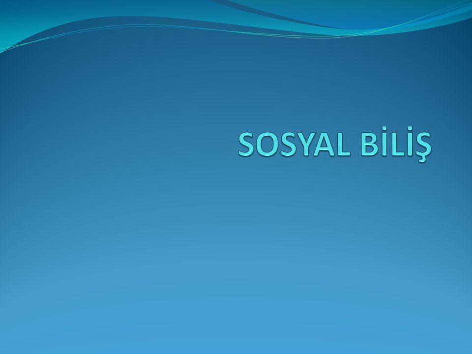 SOSYAL BİLİŞ