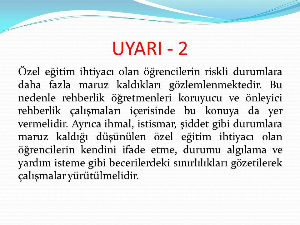 UYARI - 2