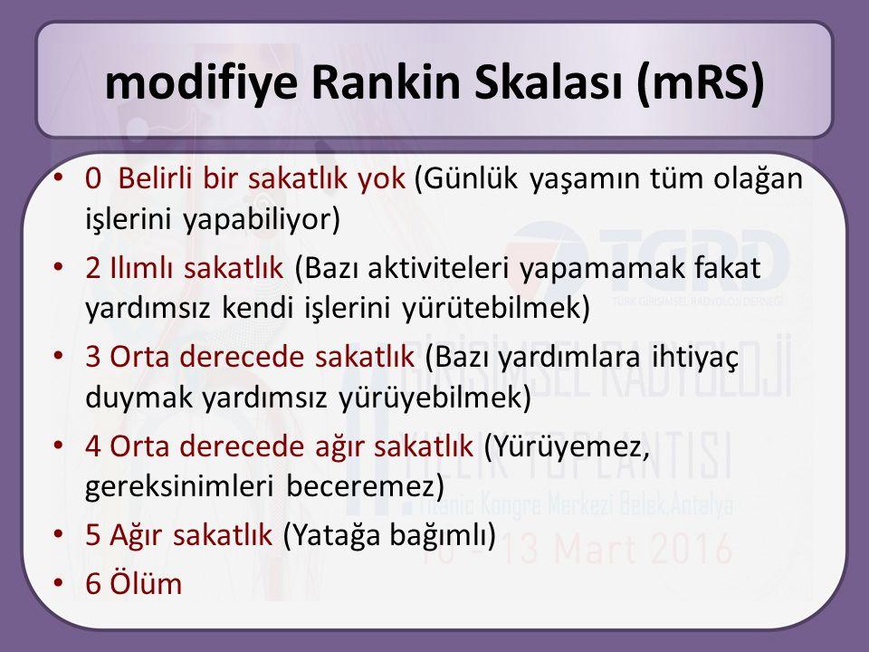 modifiye Rankin Skalası (mRS)
