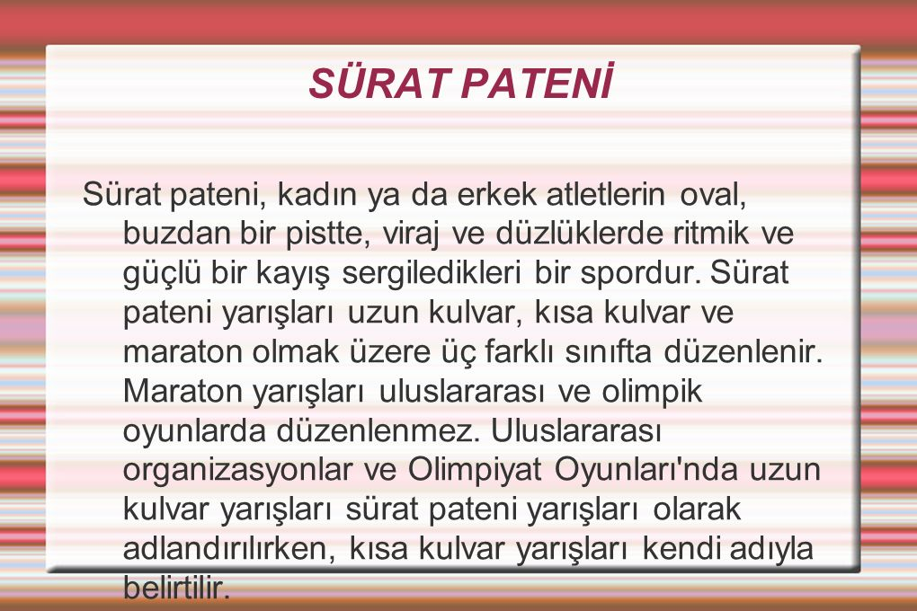 SÜRAT PATENİ