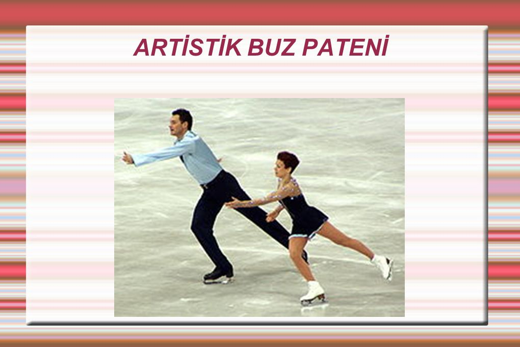 ARTİSTİK BUZ PATENİ