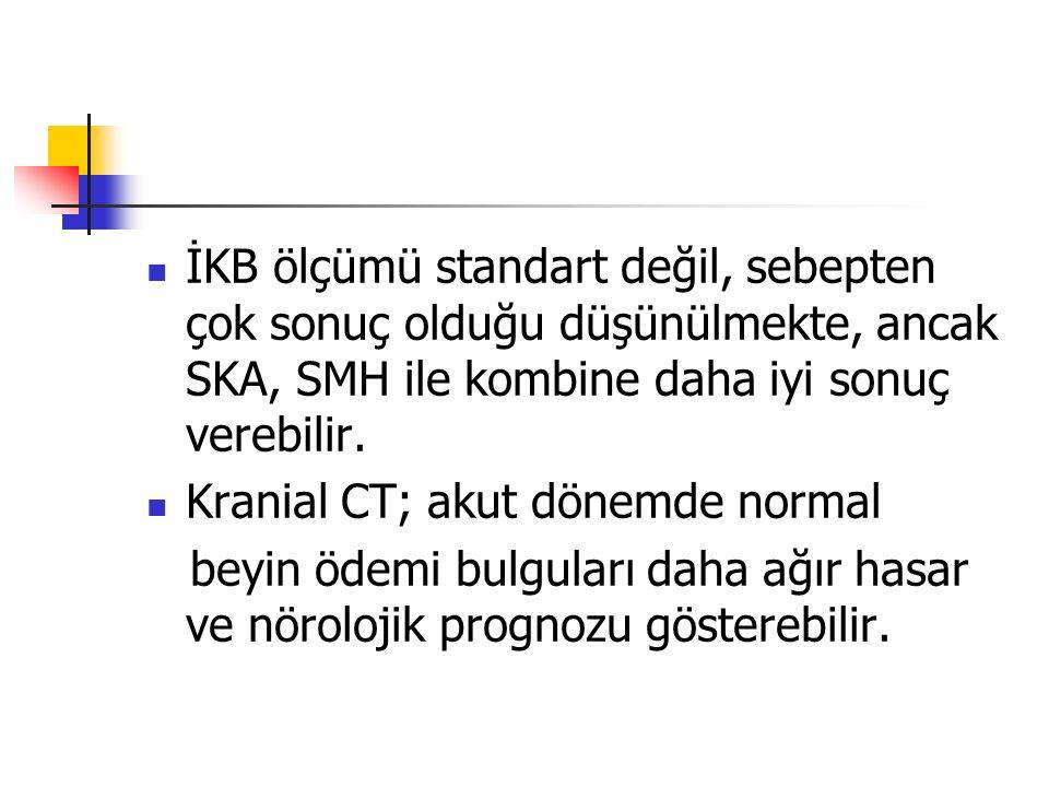 İKB ölçümü standart değil, sebepten çok sonuç olduğu düşünülmekte, ancak SKA, SMH ile kombine daha iyi sonuç verebilir.