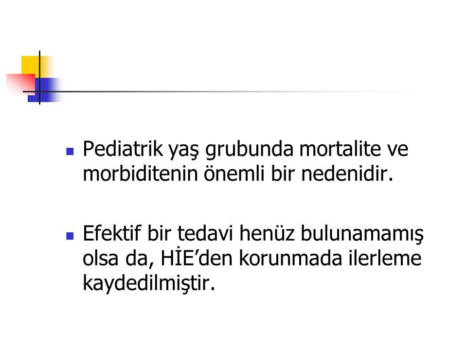 Pediatrik yaş grubunda mortalite ve morbiditenin önemli bir nedenidir.