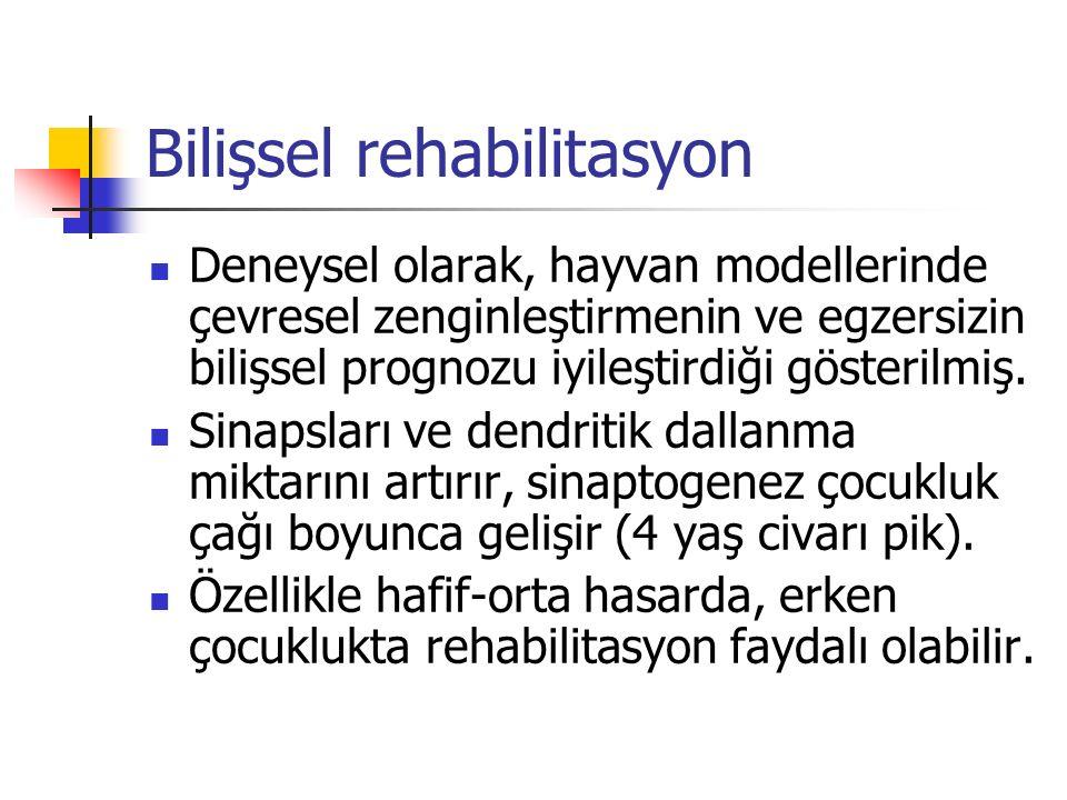 Bilişsel rehabilitasyon