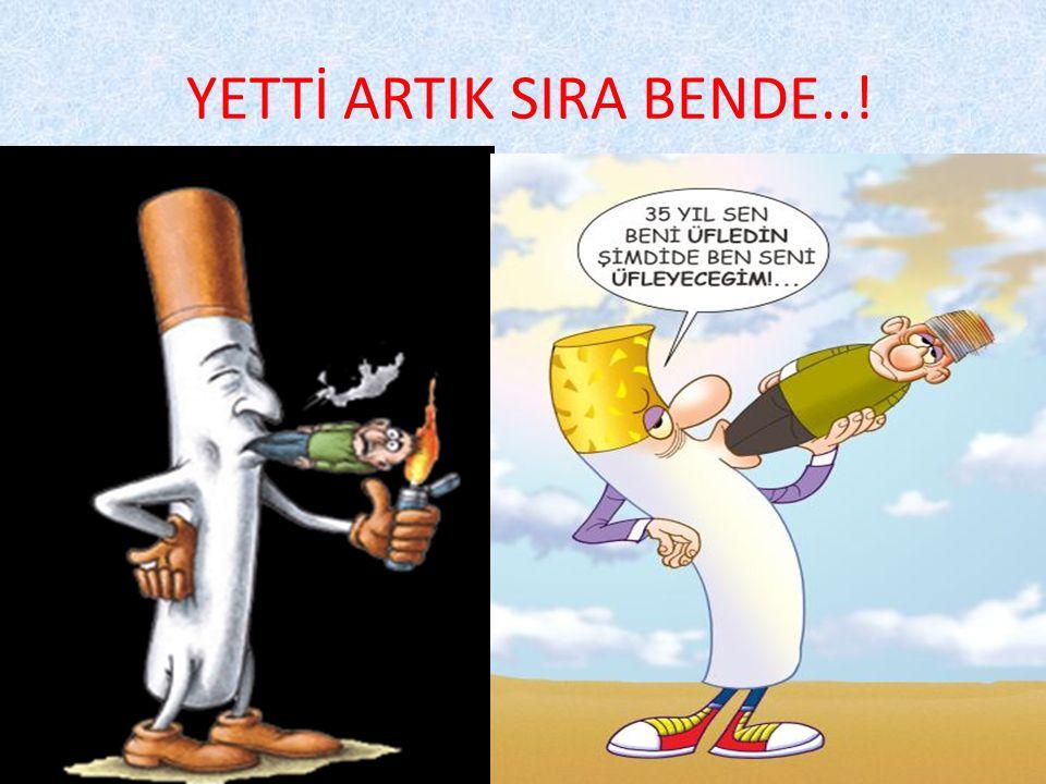 YETTİ ARTIK SIRA BENDE..!